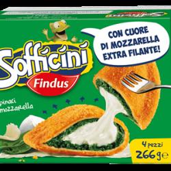 SOFFICINI FINDUS SPINACI PIU' MOZZARELLA