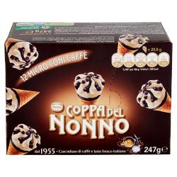 MINI CONI COPPA DEL NONNO CAFFE' X12