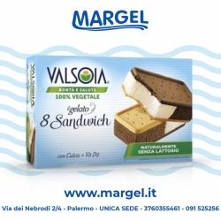 GELATO SANDWICH VALSOIA (8PZ)