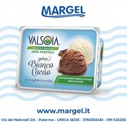 GELATO VALSOIA BIANCO/CACAO GR500